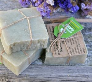 Натуральное мыло ручной работы с эфирным маслом