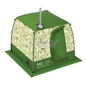 Мобильная баня МОБИБА МБ-15 (цена без печи)